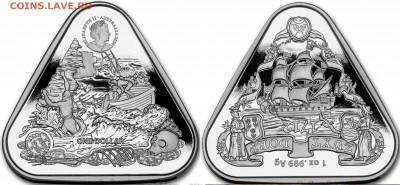 Монеты с Корабликами - австралия