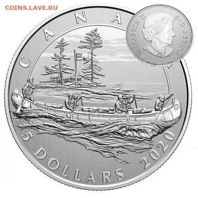 Монеты с Корабликами - канада 5.2020