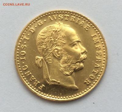 1 дукат 1915 Австро-Венгрия, рестрайк. До 21:00 20.10 - 514F139C-7F1F-42BC-B7F7-EF613DA217EE