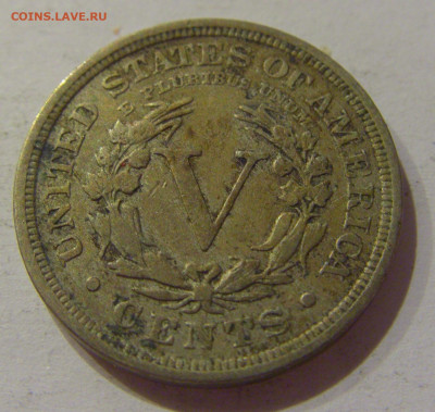 5 центов 1910 США №1 21.10.2020 22:00 МСК - CIMG9526.JPG
