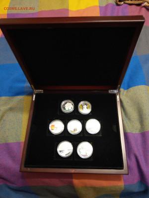 "Палау 7 монет ""Чудеса Света"" в коробке до 21.10 - IMAG9012"