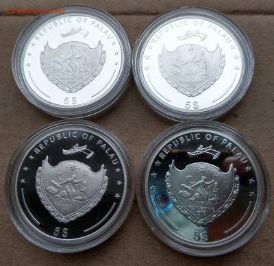"Палау 7 монет ""Чудеса Света"" в коробке до 21.10 - IMAG9041_2"