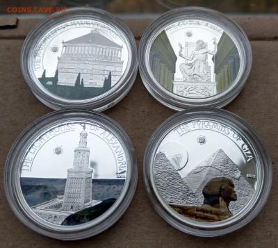 "Палау 7 монет ""Чудеса Света"" в коробке до 21.10 - IMAG9040_2"