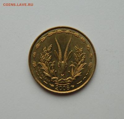 Западная Африка (ВСЕАО) 5 франков 2008 г.(Фауна) до 22.10.20 - DSCN2190.JPG