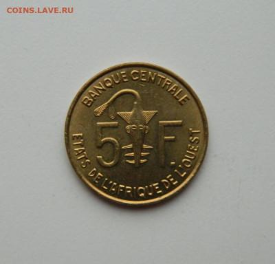 Западная Африка (ВСЕАО) 5 франков 2008 г.(Фауна) до 22.10.20 - DSCN2191.JPG