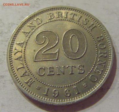 20 центов 1961 Британское Борнео №1 24.10.2020 22:00 МСК - CIMG9842.JPG