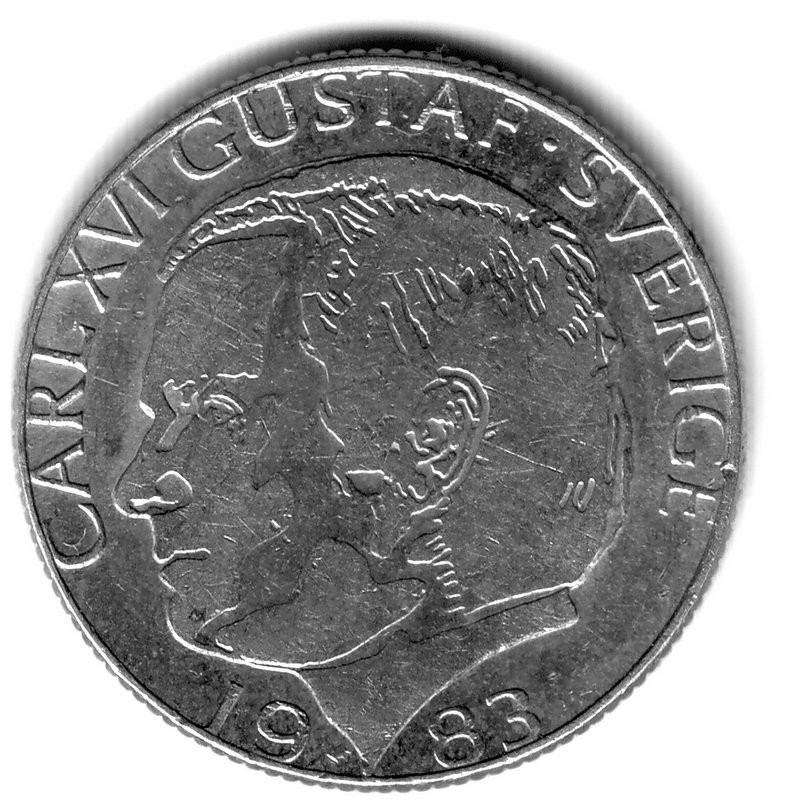 оцените монету - 1крона-1