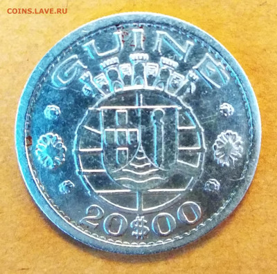 20 эскудо Гвинея 1952 г. VF до 29.10.20 21:00мск - IMG_20201027_135812