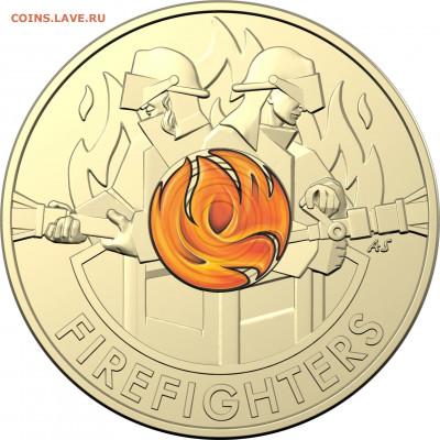монеты с пожарной тематикой? - 0001289_brave-australias-firefighters-card