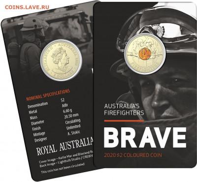 монеты с пожарной тематикой? - 0001291_brave-australias-firefighters-card