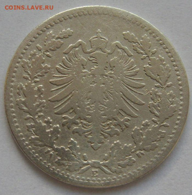 Германия, иностранщина (наборы, на вес, евро), царизм, СССР. - 50 пфеннигов 1877 E - 2