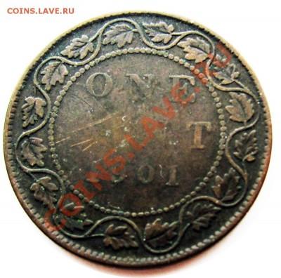 R10 1¢ Канада 1901 С Рубля! до 29.09 в 22°° - R10 Canada 1c 1901 G_VG-2