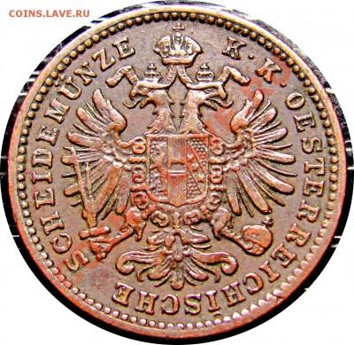 C83 Австрия 1 крейцер 1885 до 29.09 в 22°° - C83 1 KREUZER 1885_2