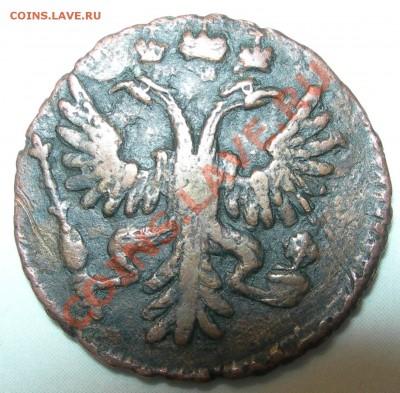 Россия, полушка 1731 - Россия, полушка 1731 герб.JPG