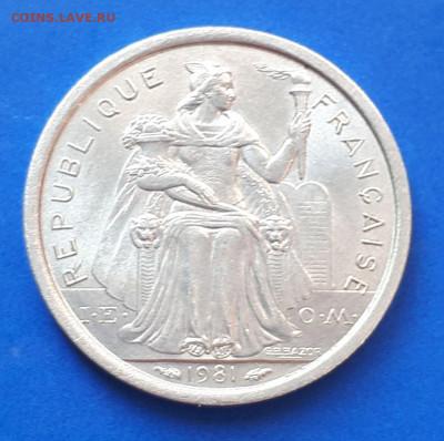 Новая Каледония 1 франк 1981 - 4