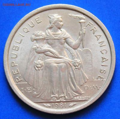 Новая Каледония 1 франк 1981 - 3
