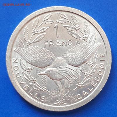 Новая Каледония 1 франк 1981 - 2