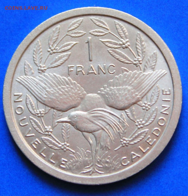 Новая Каледония 1 франк 1981 - 1