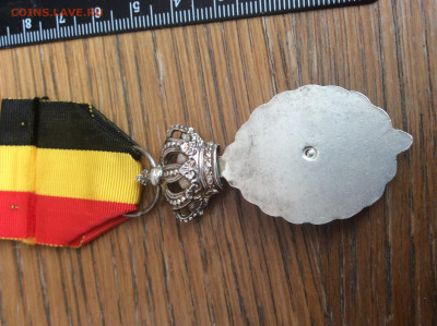 Медаль Бельгия - IMG_2749.JPG