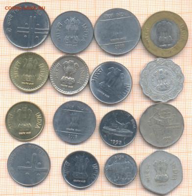 Индия 16 монет - 4 индия 16м 100а