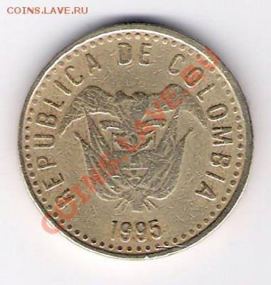 КОЛУМБИЯ 100 песо 1995, до 30.09.11 22-00мск. - сканирование0359