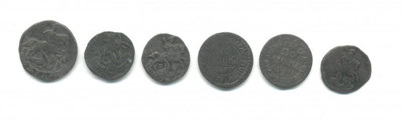 помогите соценкой монет до 1917 года - П
