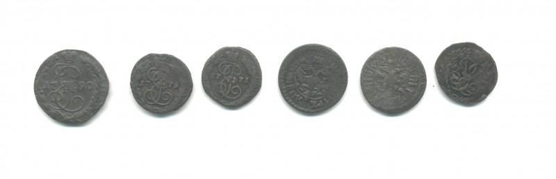 помогите соценкой монет до 1917 года - П,2