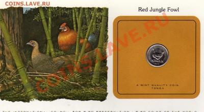 Птицы мира Тонга 5 сенити 1979 Банкивская курица до 29.09 22 - img025
