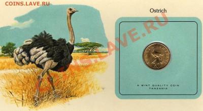 Птицы мира Танзания 20 сенти 1979 Страус до 29.09.11 22ч - img027