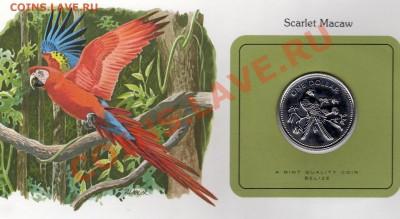 Птицы мира Белиз 1$ 1980 Красный ара до 29.09.11 22 - img057