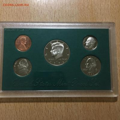 США 1996г Годовой набор монет Proof (5 штук) в упаковке - image-21-11-20-04-24-3