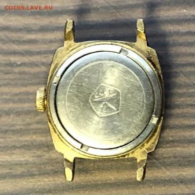 Часы позолоченные славу ау5 с 1р до 28.11.20 в 22.00 по мск - A19C478F-E27A-4E0C-A4AF-D03B27A85B60