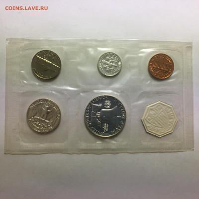 США 1963г Годовой набор в запайке - image-19-11-20-05-13