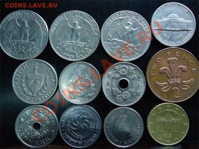 лот иностранных монет - лот иностр-2