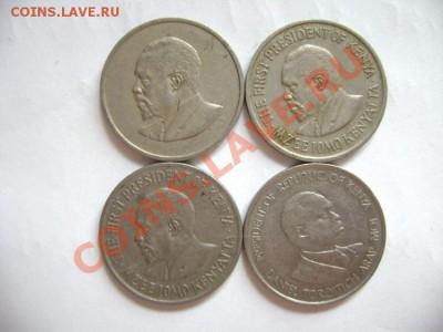 4 монеты КЕНИЯ 50 центов 1968-1980гг - DSC00570.JPG