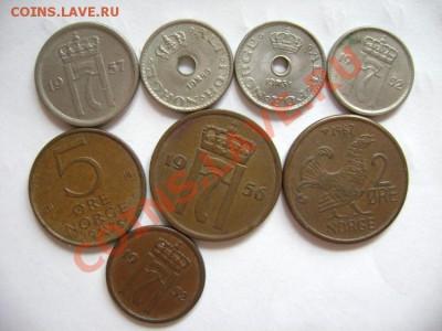 8 монет НОРВЕГИЯ 1949-1975 - DSC00575.JPG