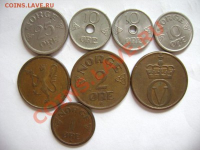 8 монет НОРВЕГИЯ 1949-1975 - DSC00576.JPG
