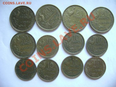 12 монет ФРАНЦИЯ 10 и 20 франков 50-егг - DSC00578.JPG