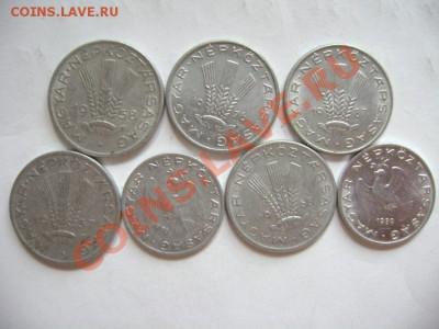 7 монет ВЕНГРИЯ 10-20 филлер. 1957-1989гг. до 30.09.11г - DSC00587.JPG