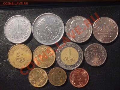 Монеты Египта,Турции и Швеции до 29.09.11 в 21 00 МСК - 1
