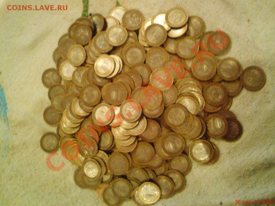 10 рублей биметалл кучка 264  штуки (оценка) - ABCD0015.JPG