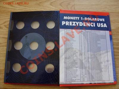 Альбомы под доллары и квотеры США. - Альбом доллары США - 4