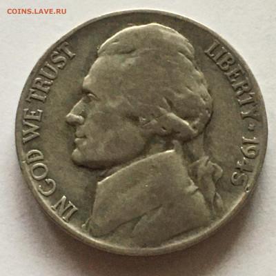 США 5 центов 1945г Р - image-20-11-20-02-45-3