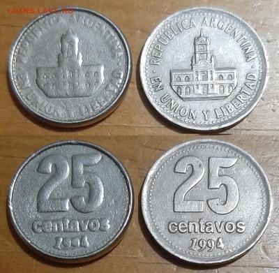10 рублей 2017г. - 25ct_1994_lavarropa