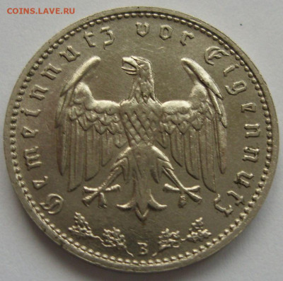 Германия, иностранщина (наборы, на вес, евро), царизм, СССР. - 1 марка 1939 B - 2-2