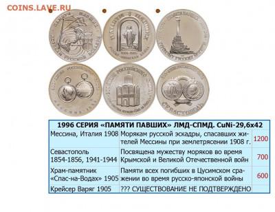 Монеты с Корабликами - ФЛОТ-05 Ø44х20 МЕДАЛИ 2-ПАМЯТИ ПАВШИХ (3●)-