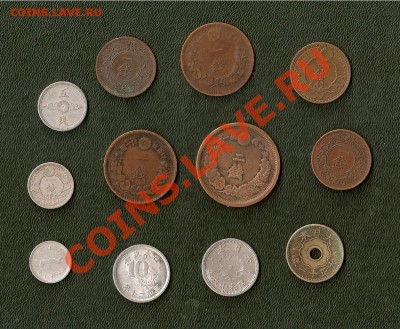Япония, подборка монет от Мейдзи до Сёва - 12 штук (04.10) - 0007_1~1.JPG