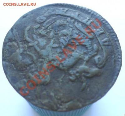 Деньга Екатерины 1774 года: КМ или ЕМ? - полушка 1774 А.JPG