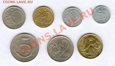 Монеты Европы. Пополняемая. - CSSR_cr