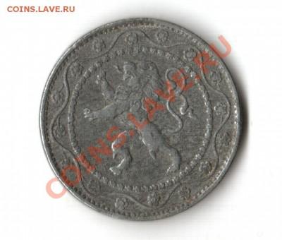 Монеты Европы. Пополняемая. - ББельгия 1917 2